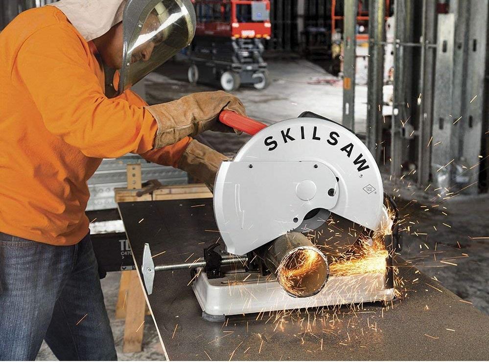 SKILSAW SPT64MTA-01 15 Amp Abrasive Chop Saw, 14-inch