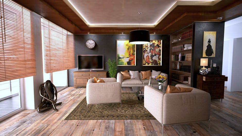 Beautiful Wooden Floor Design Ideas for Living Room