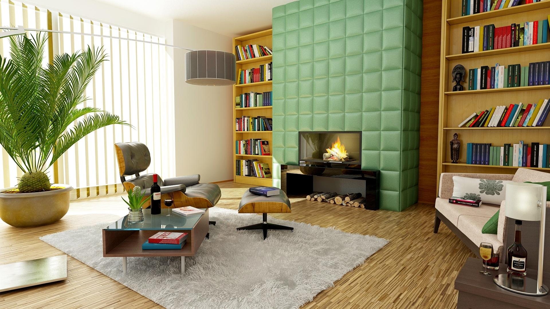 Avant-Garde Living Room