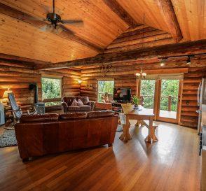Rustic-Style Log Cabin
