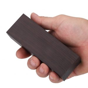 Black Ebony Wood Lumber Blank DIY Material for Music Instruments Tools