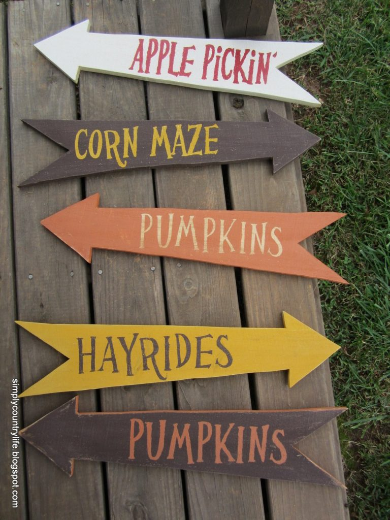 Fall Yard Signs