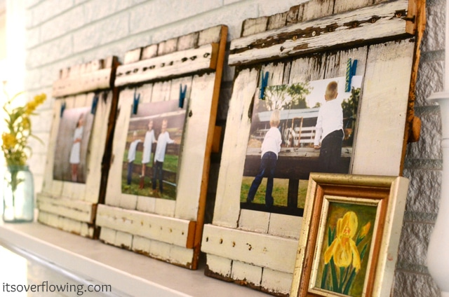 Picket-Inspired Picture Frames