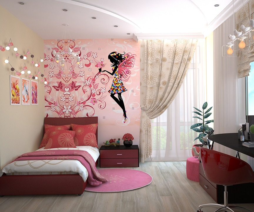 Clever Kids Room Wall Decor Ideas Inspiration: 21 Simple And Beautiful DIY Bedroom Décor Ideas