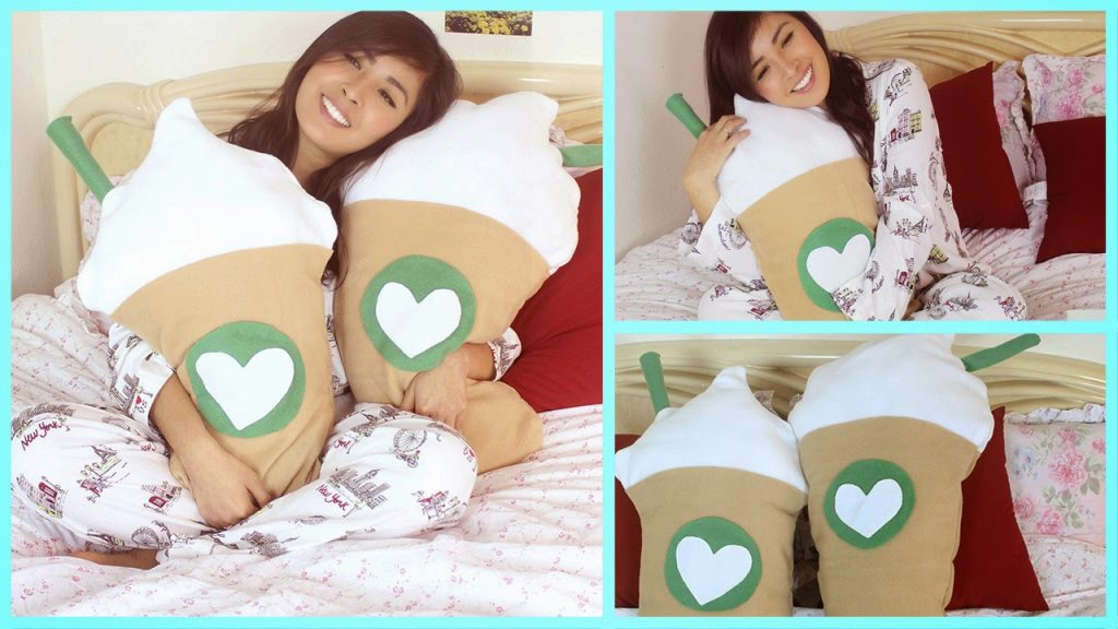 DIY Starbucks Frapp Pillow