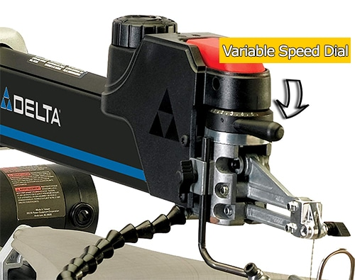 Delta Scroll Saw Variable Speed Dial