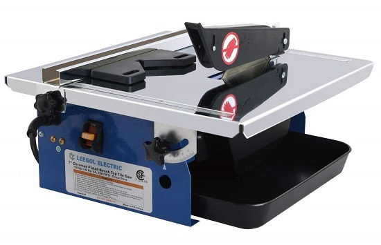 Leegol 7-Inch Wet Tile Saw