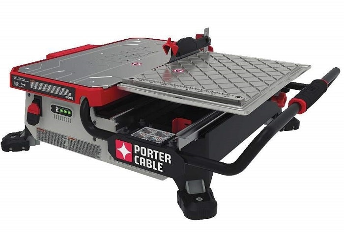 Porter Cable PCC780LA 20V MAX 7-inch Sliding Table Top Wet Tile Saw
