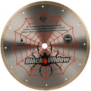 QEP 6-1008BW 10-Inch Micro-Segmented Rim Diamond Blade for Tile