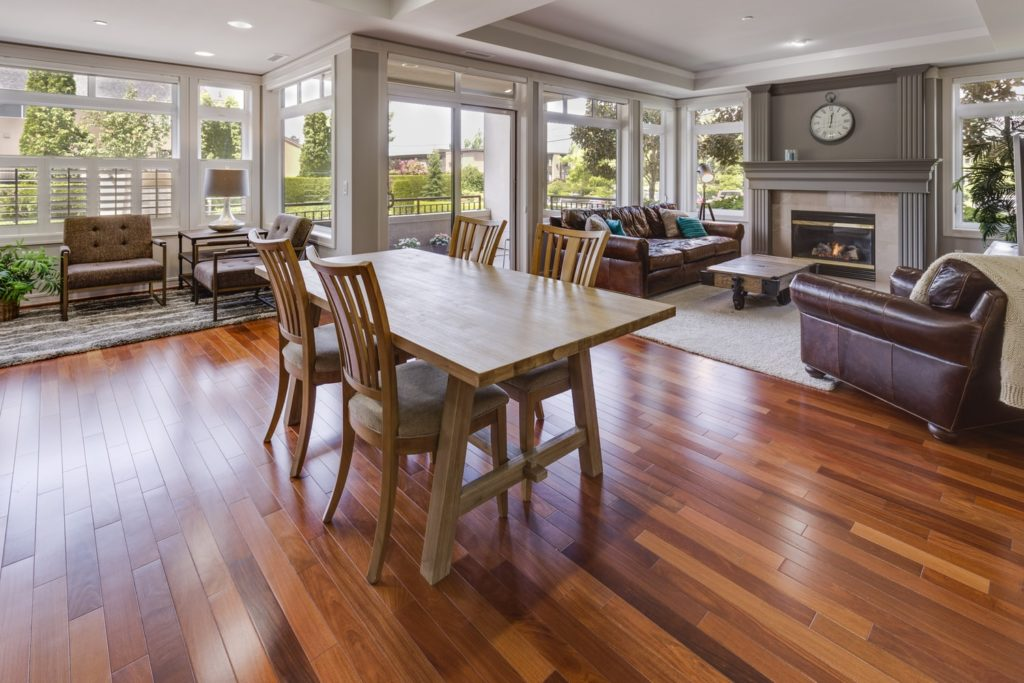 Beautifully Installed Hardwood Flooring