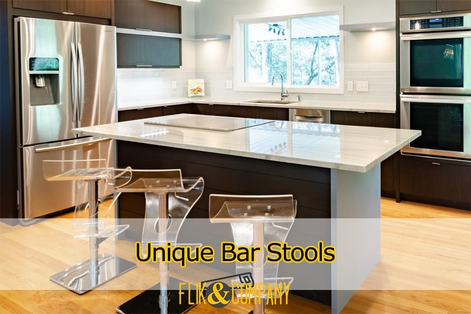 Unique Bar Stools Cool Addition to Kitchen