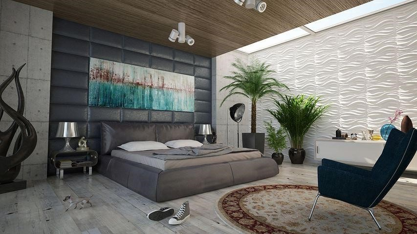 Nature-Themed Bedroom