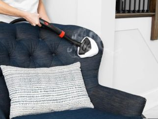 Best Steam Cleaner for Upholstery Feat
